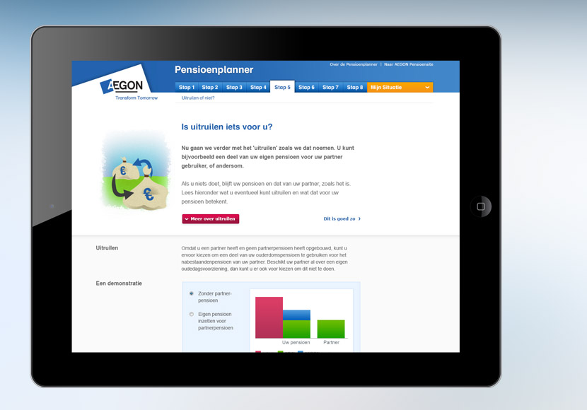 AEGON Pension Apps